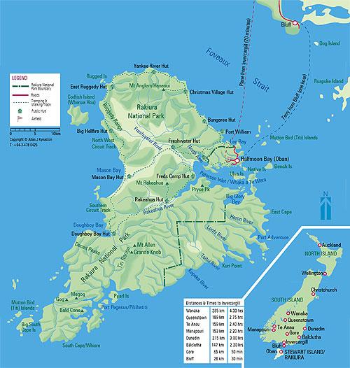 stewart-island-map